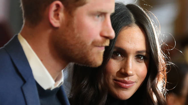 Harry and Meghan are embroiled in a row over their plans to step back as senior Royals