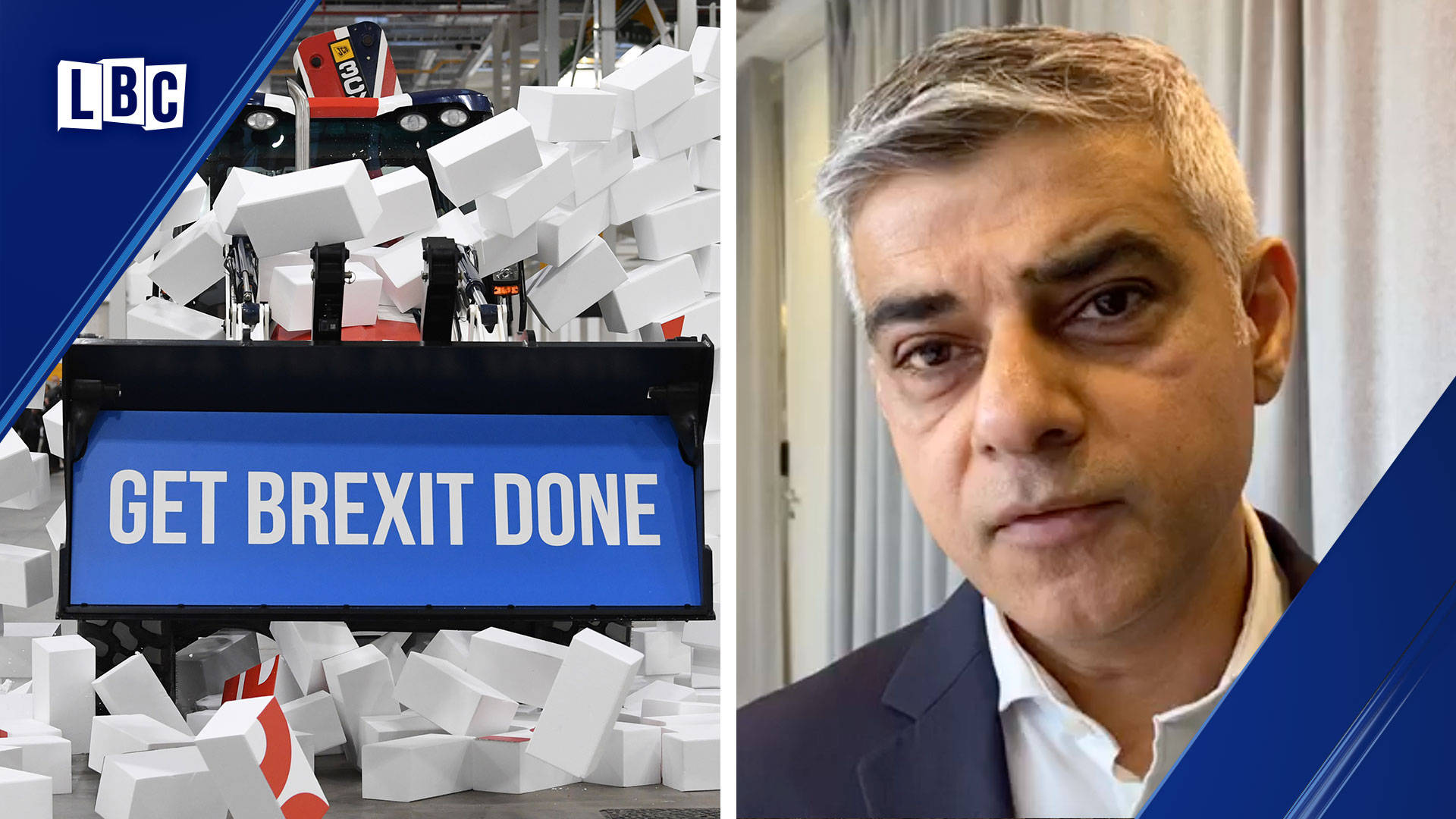 Sadiq Khan admits concern that hate crime will rise after Brexit Day
