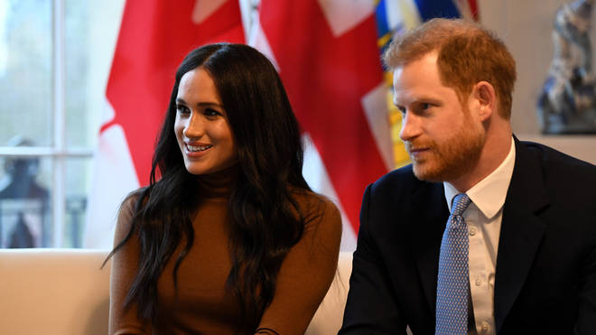 The couple plan to split their time between the UK and Canada