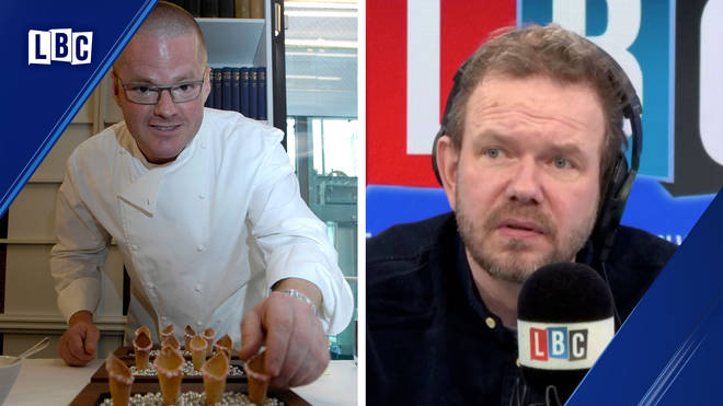 James O'Brien's conversation about Heston Blumental was very entertaining