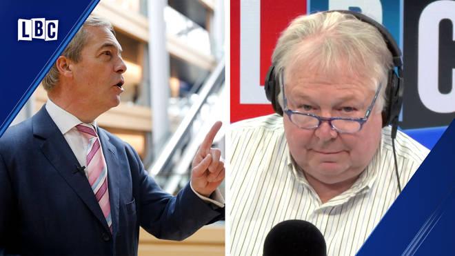 Nigel Farage spoke to Nick Ferrari