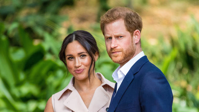 The couple will be stepping back from royal life