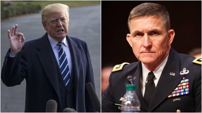 Mr Flynn was national security advisor for Donald Trump