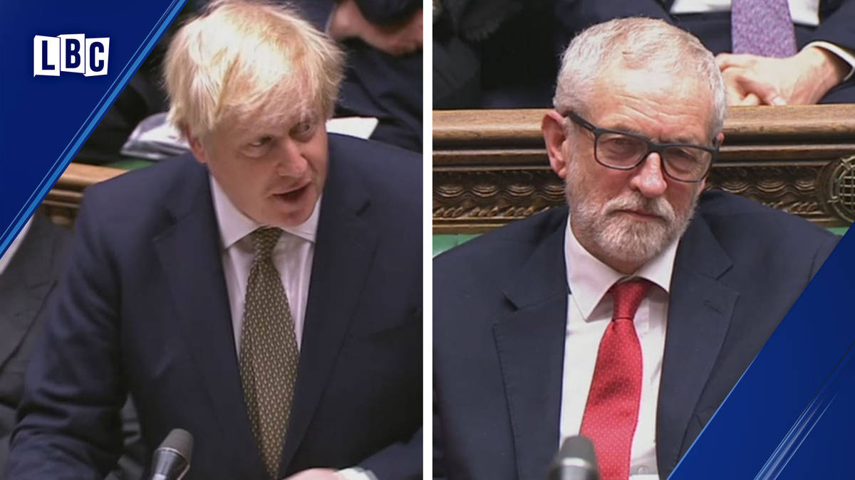 Boris Johnson v Jeremy Corbyn in PMQs: Watch live NOW