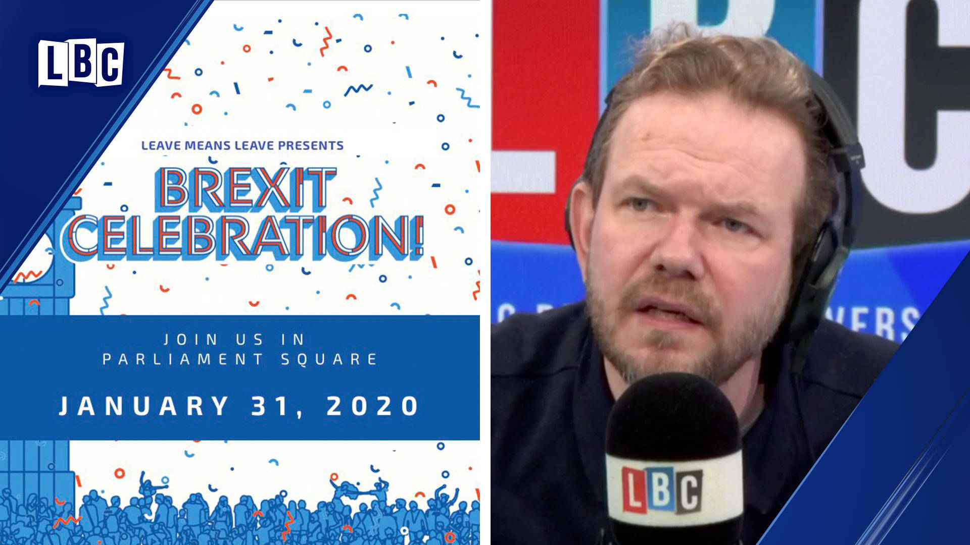 James O'Brien's message to Remainers about Nigel Farage's Brexit celebration