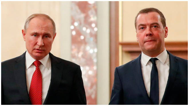 The Russian Prime Minister has submitted his resignation to President Vladimir Putin