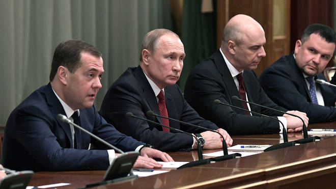 Dmitry Medvedev has lead the government since 2012