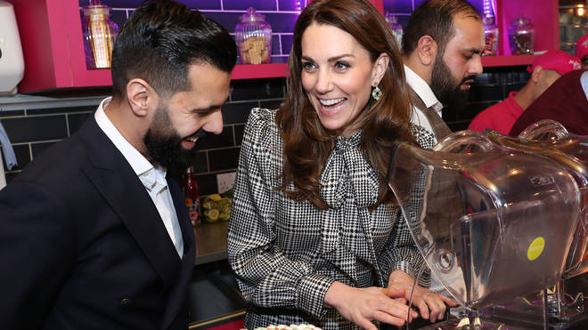 The Duke and Duchess visited MyLahore's flagship restaurant