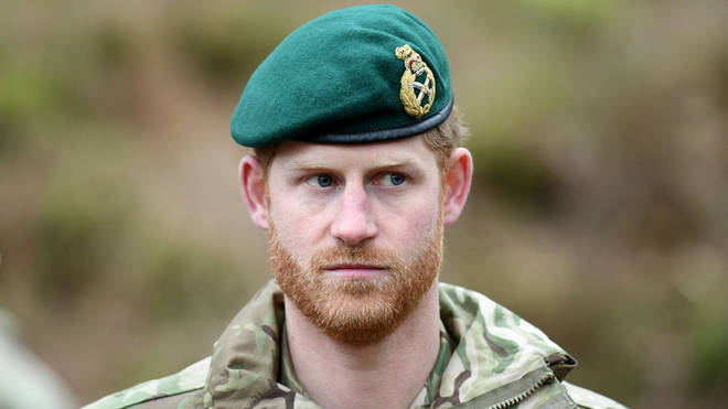 Prince Harry served as a tank commander in the Blues and Royals