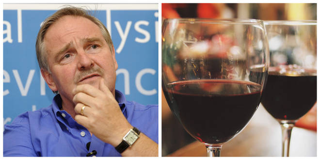 "Professor David Nutt branded alcohol as ""the most damaging drug people can take"""