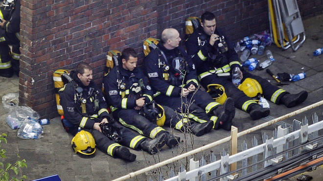 Grenfell Tower firefighters