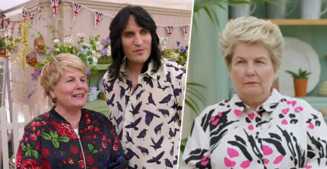 Presenter Sandi Toksvig (pictured left with Noel Fielding) has stood down to focus on other projects