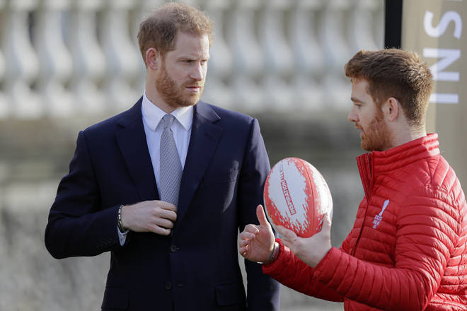 Prince Harry met with James Simpson