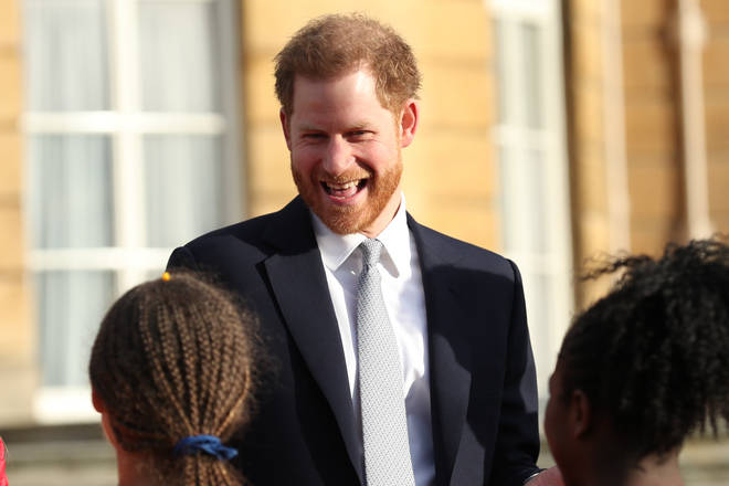 The Duke of Sussex at the palace