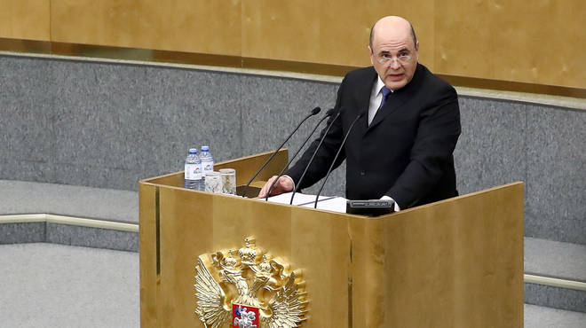 Mikhail Mishustin has been approved as the new Russian PM