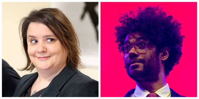 Susan Calman (left) and Richard Ayoade are also favourites