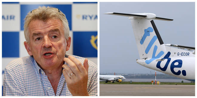 Ryanair boss Michael O'Leary has criticised the government's bailout