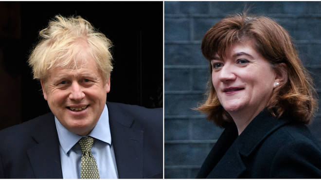 """Nicky Morgan said she was willing to """"put aside differences"""" to serve under Mr Johnson"""
