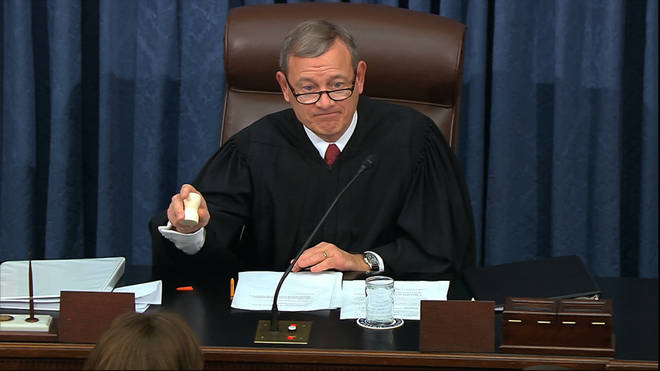 Chief Justice Roberts will preside over the trial