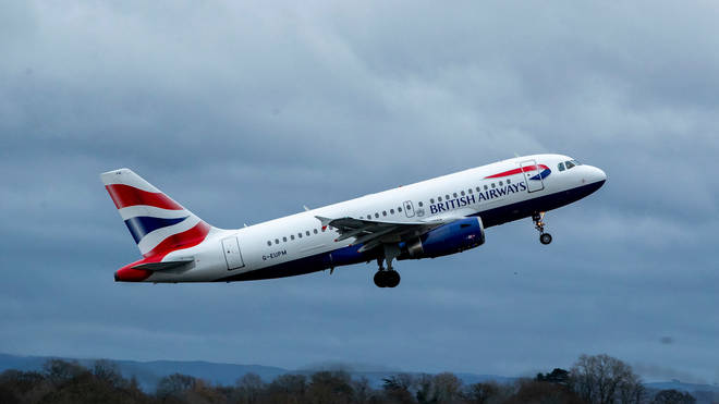 File photo: British Airways has been criticised for its carbon emissions
