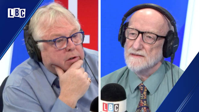 Nick Ferrari's interview with Lib Dem peer Lord Greaves got very angry.