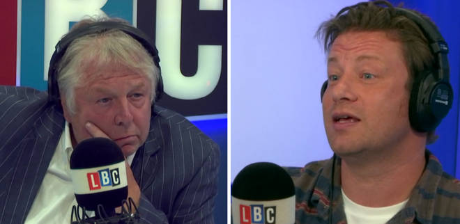 Nick Ferrari Jamie Oliver