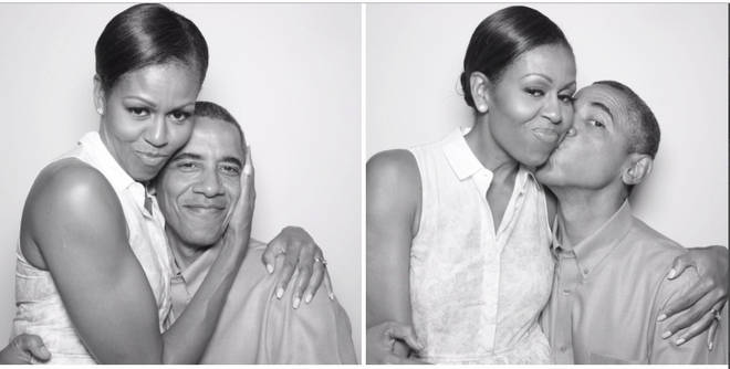 Barack Obama shared the adorable photos