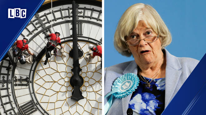 Ann Widdecombe: 'I'm incredibly disappointed Big Ben won't chime for Brexit Day'
