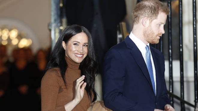 Meghan and Harry have lost their HRH titles