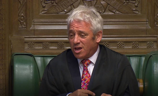 Joh Bercow has reportedly been put forward for a peerage