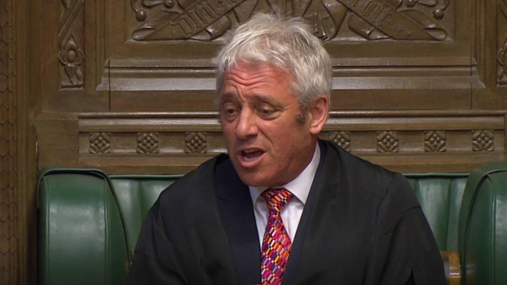 Labour 'nominating former Tory speaker John Bercow for peerage'