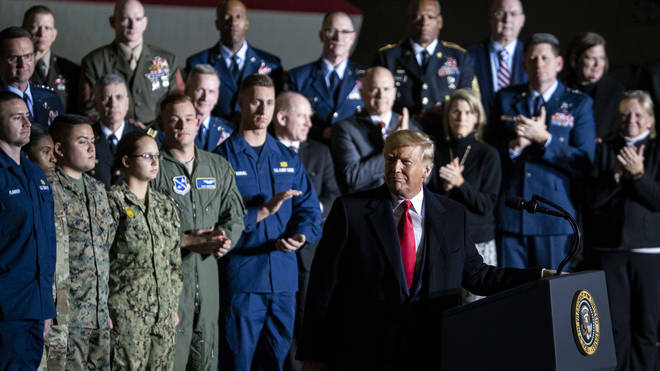 President Trump launched the US Space Force in December