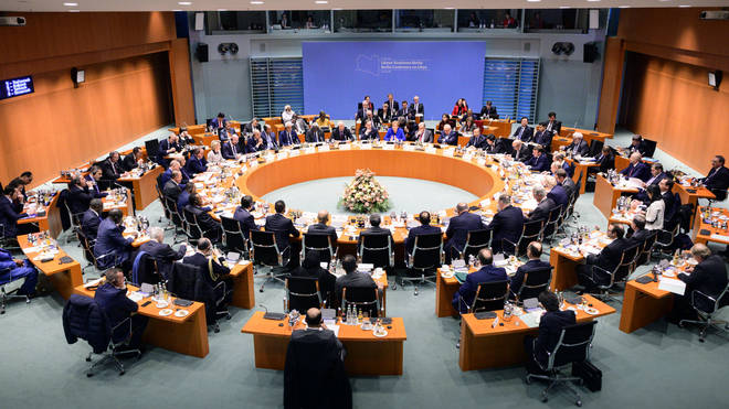 World leaders are gathering in Berlin for the crunch summit on Libya