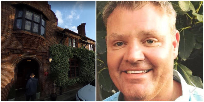 Martin O'Grady said the Fordwich Arms in Kent refused to refund a £660 table even though his dad was dying