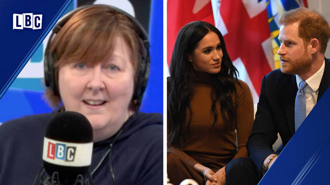 "Shelagh Fogarty brands caller ""hard-hearted and wrong"" over Meghan and Harry"