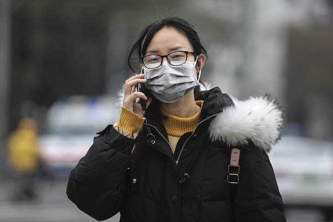 People in China are being warned to take extra care