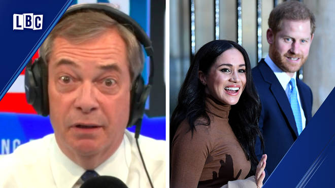 Nigel Farage speaks passionately about Harry and Meghan