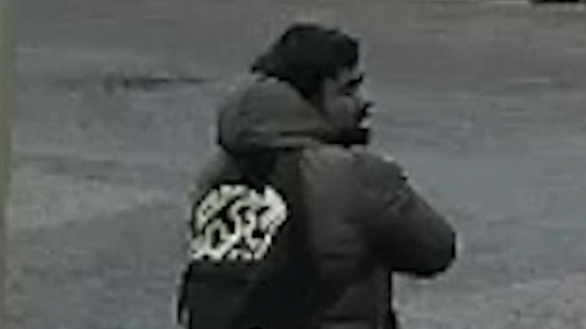 Police released this CCTV image of a man they would like to identify