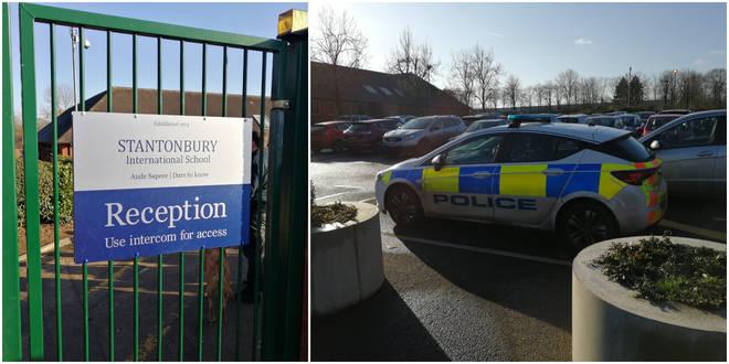 Stantonbury International School was on lockdown