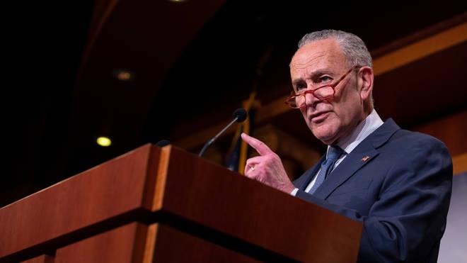 United States Senate Minority Leader Chuck Schumer