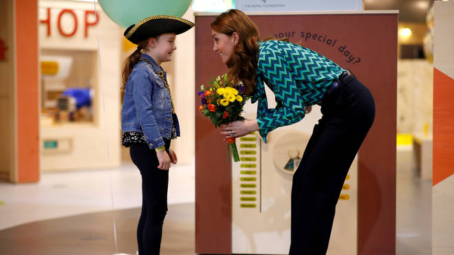 "Kate described the progress of young children as life's most ""crucial"" moment for ""future health and happiness"""