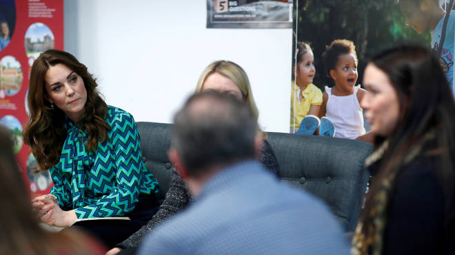 Kate chatted to health professionals, fellow parents and supporters of her project