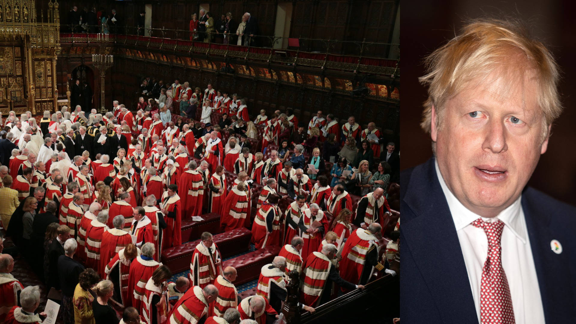 Boris Johnson's Brexit deal defeated in Lords for fifth time