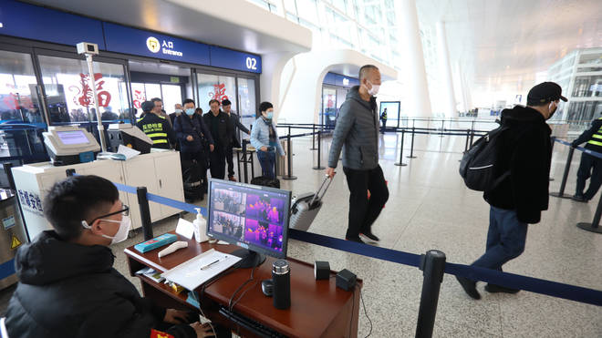 Passengers will be monitored as they enter the UK