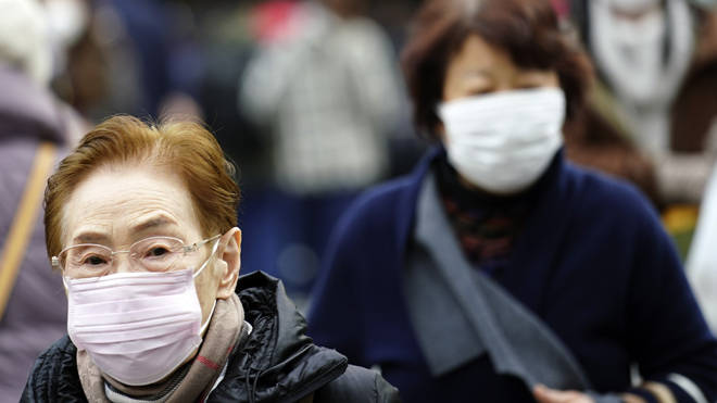 Chinese citizens are taking precautions