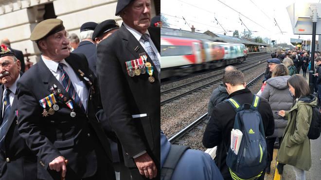 Veterans will save money on rail travel