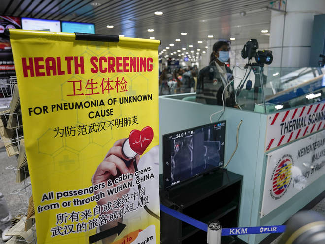 Screening checks are already in place in China