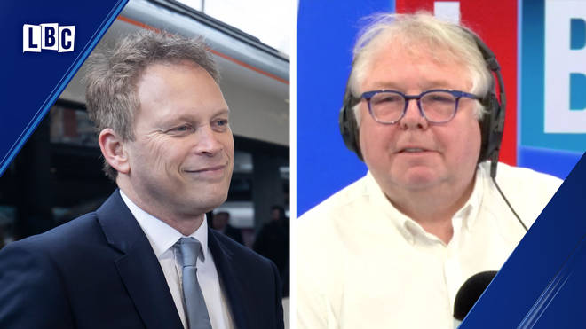 Nick Ferrari pressed Grant Shapps on when he would make the decision on HS2