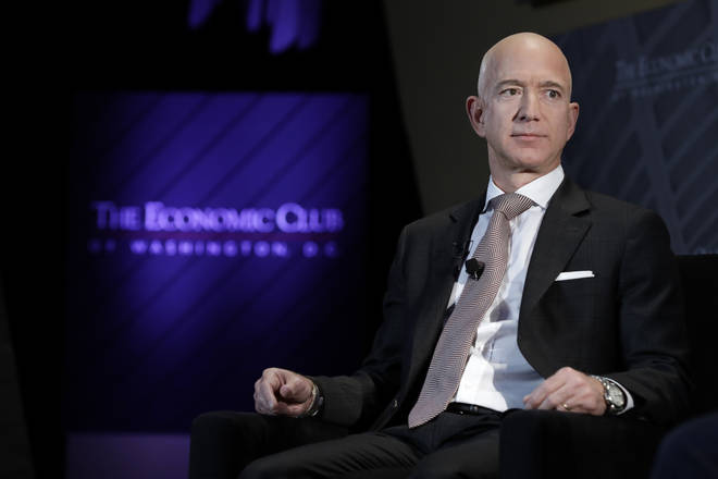 Jeff Bezos's phone was reportedly hacked
