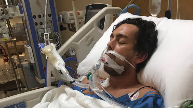 """Ashley suffered collapsed lungs and needed fluid drained from them in a """"touch and go"""" operation"""